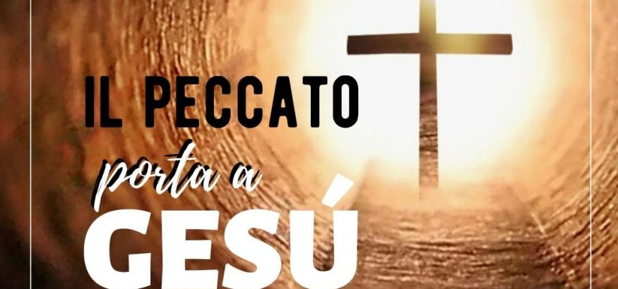 il peccato porta a Gesù pic